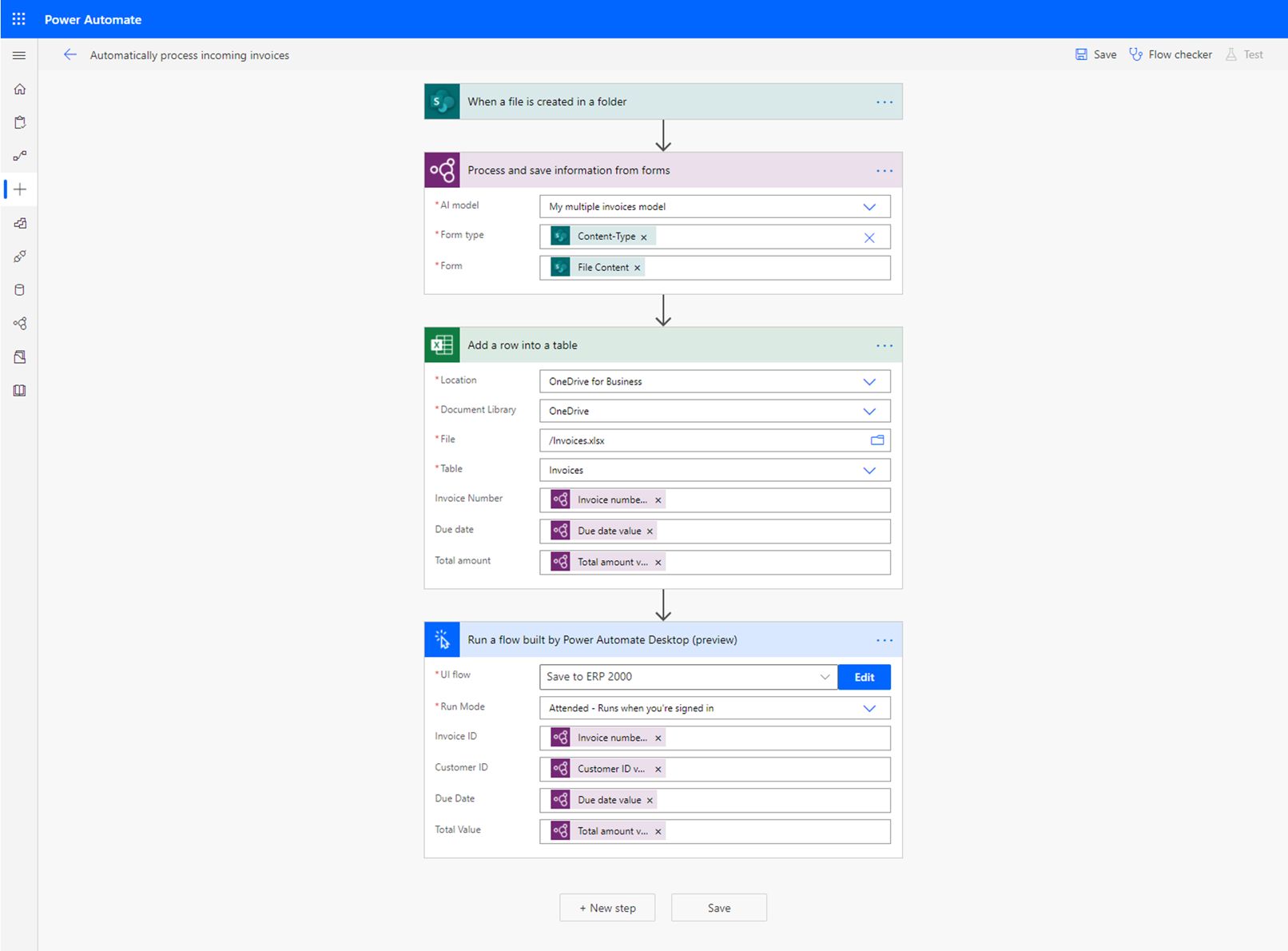 Form Processing flow