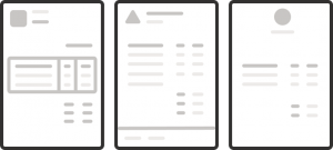 Form processing multiple layouts illustration